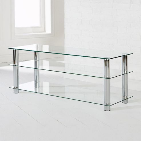 Elements Poseidon TV Stand - Clear
