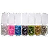 Storage With Bugle Beads 105Gms Pastel Sh