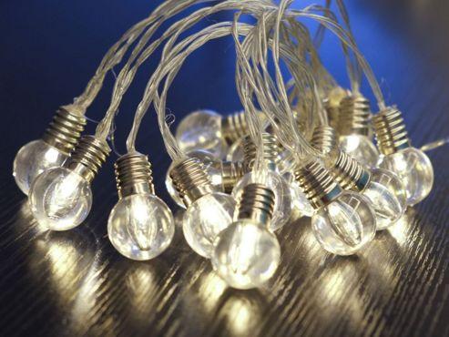 Noma String Lights Led : Buy Noma LED light string : LIGHT BULB GARLAND from our All Christmas range - Tesco