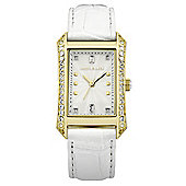 Karen Millen Ladies Swarovski Crystal Watch - KM111WG