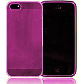 Apple iPhone 5 - gSHELL Tough All-Body Gel Case - Smoke Pink