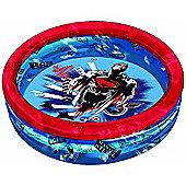 Super-man Man Of Steel Inflatable Swimming Pool