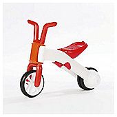 Chillafish Bunzi 2 in 1 Balance Bike, Red