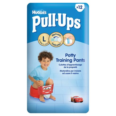 Huggies Pull-Ups Potty Training Pants - Size 6 - Large - Boy - 12 Pack