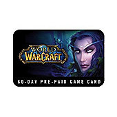 World Of Warcraft - 60 Day Time Card