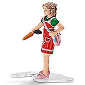 Schleich Girl Feeding 13905