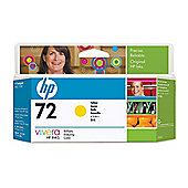 HP 72 Ink Cartridge - Yellow