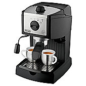 DeLonghi EC155 Espresso Coffee Machine, Black