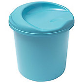 Addis Plastic 30L Sit & Store Box, Blue