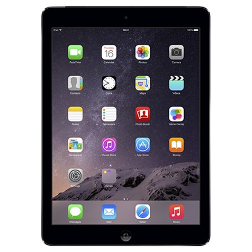 Apple iPad Air, 16GB, WiFi & 4G LTE (Cellular) - Space Grey