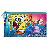 Spongebob Flat Pencil Case