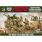 Soviet - 152mm Reserve Heavy Artillery Battalion - Flames of War