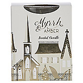 Myrrh & Amber Boxed Filled candle