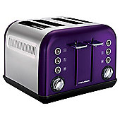 Morphy Richards Purple Toaster New