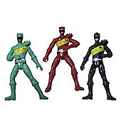Power Rangers Dino Charge 10cm Action Figure 3 Pack