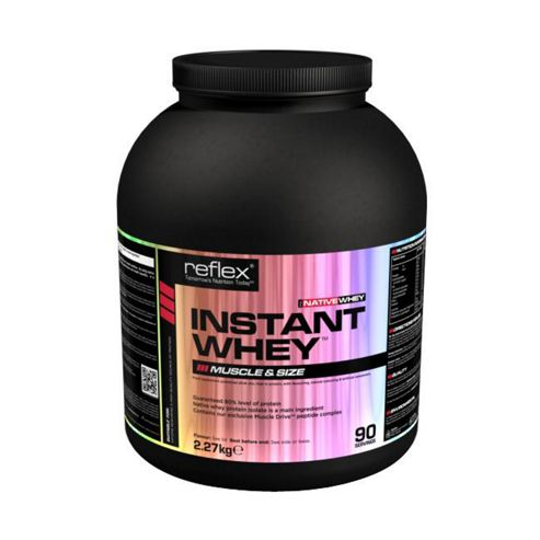 Reflex Native Instant Whey 2.27kg - Raspberry