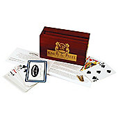 Knob & Heel Folding Cribbage Game