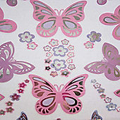 Butterfly and Flowers, 52 Quick-Sticks