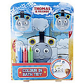 Thomas and Friends Colour Me In Bath Tidy