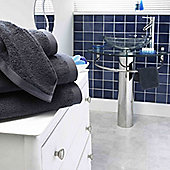 Luxury 800gsm Boutique 100% Turkish Cotton Towel - Grey