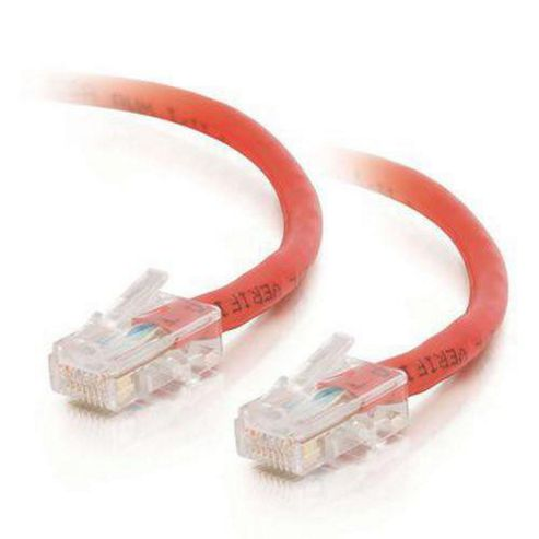 Cables To Go 2 m Cat5e UTP Network Patch Cable - Red