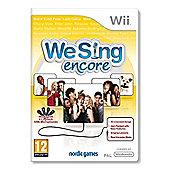 We Sing Encore Se Edition Solus Wii - NintendoWii