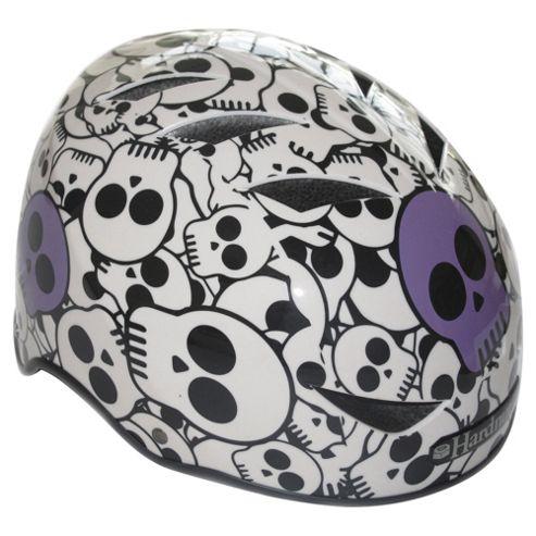 HardnutZ Purple Skulls Helmet Small 51-54cms