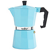 VonShef 6 Cup Espresso Coffee Maker - Duck Egg