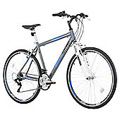 "Vertigo Moroto 700c Front Suspension Hybrid Bike, 20"" Frame"