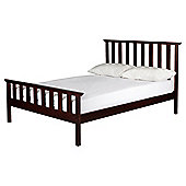 Winton Double Bed frame, Chocolate