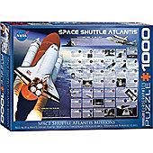 Space Shuttle - Atlantis Missions - 1000pc Puzzle