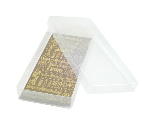 Plastic Storage Box - Shallow