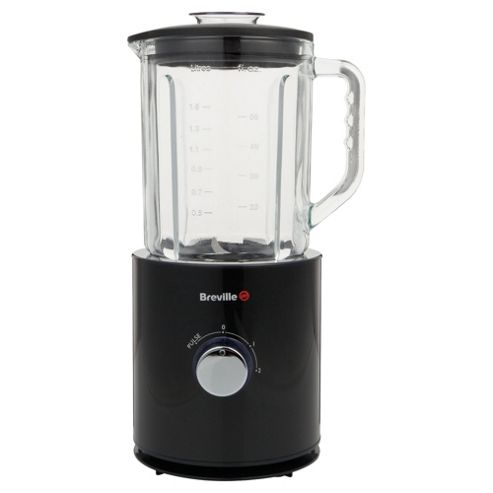 Breville VBL065 Pro-Kitchen Glass Jug Blender Black