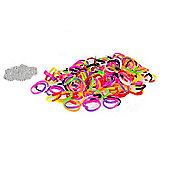 Jacks Thick Glitter Bracelet Refill Pack - 150 Loom Bands