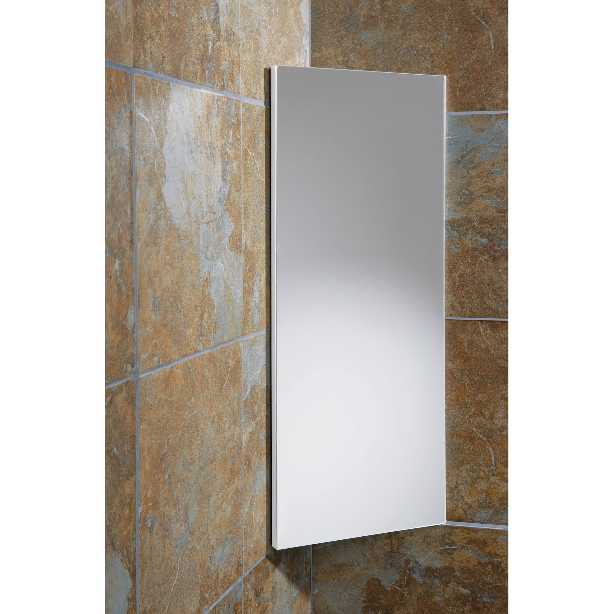 HIB Denia Mirror Corner Cabinet at Tesco Direct