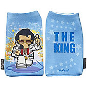 Trendz WESKEBL Elvis Phone Sock - Blue