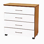 Home Zone Aston 4 Drawer Chest