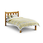 Poppy Antique Pine Finish Wooden 3FT Single Bed Frame