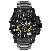 CAT Mens Black Ion-plated Chronograph Date Watch PS.163.12.137