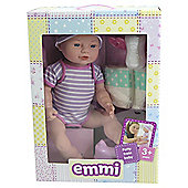 Emmi Potty Train 42cm Baby Doll