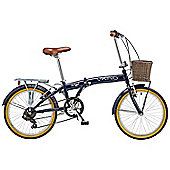 "Viking Boulevard Folding Bike 20"" Wheel 6-Speed Folder"
