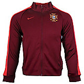 2014-15 Portugal Nike Authentic N98 Jacket (Red) - Red