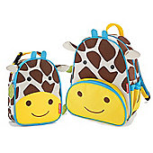 Skip Hop Zoo Pack and Lunch Bag Giraffe