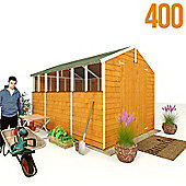 BillyOh 400 10 x 7 Overlap Apex Garden Shed