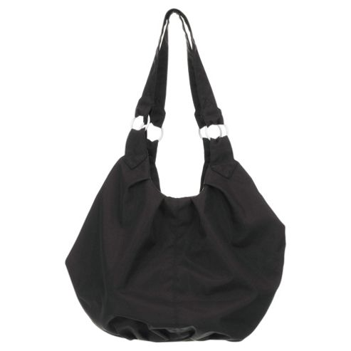 Obaby Pompom Changing Bag Black