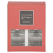 Citrus Fruit and Ginger Twin Diffusers