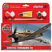Airfix Curtiss Tomahawk IIB Starter Set