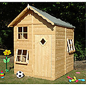 5'2ft x 5'5ft Wooden Playhouse 5'2'' x 5'5''
