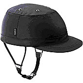 YAKKAY Paris Black Oilskin Helmet Cover: Medium (55-57cm).