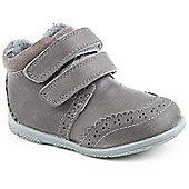 Hush Puppies Girls Twinkly Grey Ankle Boots